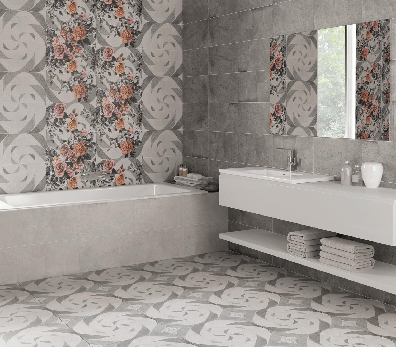 Плитка муретто lasselsberger в интерьере ванной санузла фото